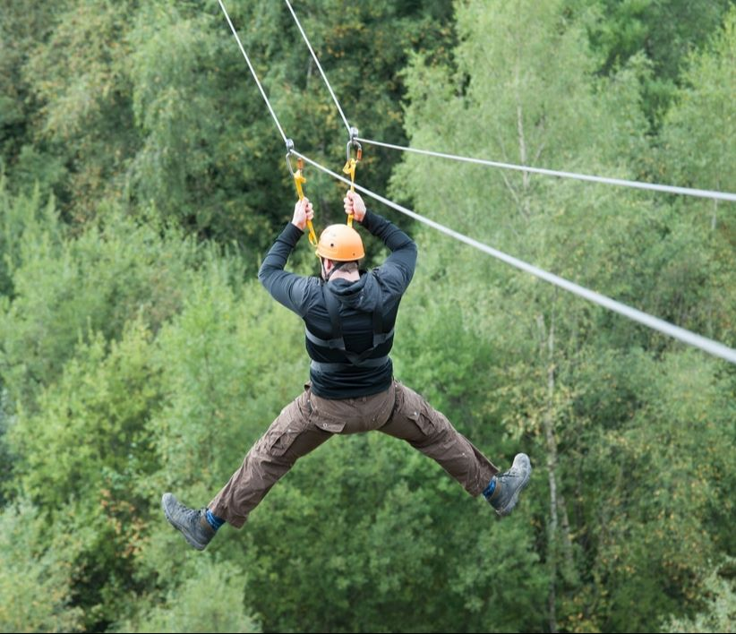 The Outdoor Adventure Company team building in Cumbria, the